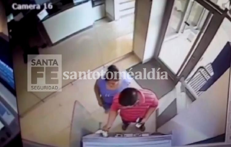 Captura video de cámara de seguridad.